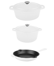 Neo Collection Cast Iron 5-Pc. Cookware Set