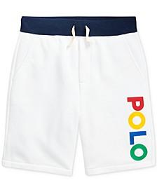 Big Boys Cotton-Blend-Fleece Shorts
