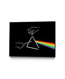 "Enkel Dika The Dark Side of The Tune Art Block Framed Canvas 44"" x 33"""