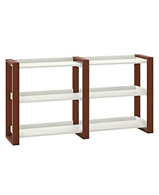 Voss Console Table with Shelves
