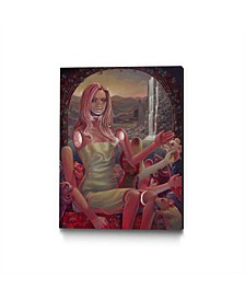 """Aaron Jasinski Made in Our Image Museum Mounted Canvas 44"""" x 33"""""""