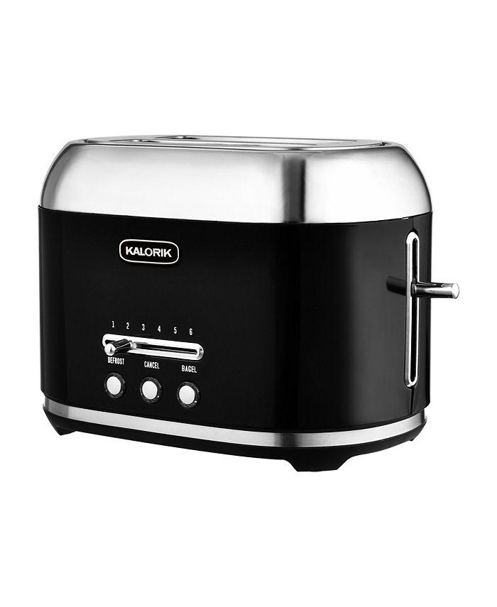 Kalorik - 2-Slice 1000 Watt Retro Toaster