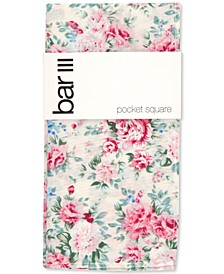 Men's Sinclair Floral-Print Pocket Square, Created for Macy's