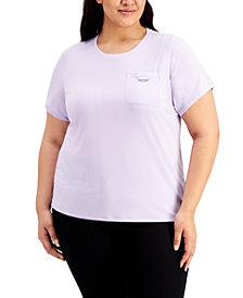 Calvin Klein Plus Size Pocket T-Shirt