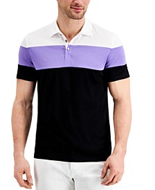 Men's Alfatech Colorblocked Polo, Created for Macy's