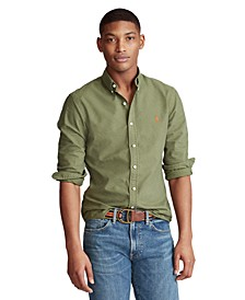 폴로 랄프로렌 셔츠 Polo Ralph Lauren Mens Classic Fit Garment-Dyed Oxford Shirt