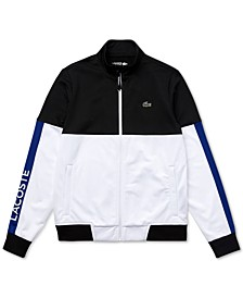 Men's Sport Long Sleeve Colorblock Jacket