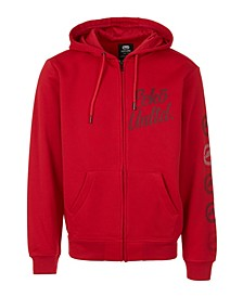 Men's Ecko Zip Up Hoodie with Vert Rhino Repeat