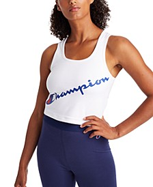 Women's Authentic Double Dry Cropped Tank Top
