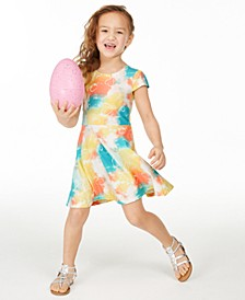 Toddler Girls Tie-Dye Fit & Flare Dress, Created for Macy's