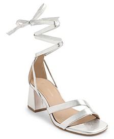 Deena Lace Up Dress Sandals
