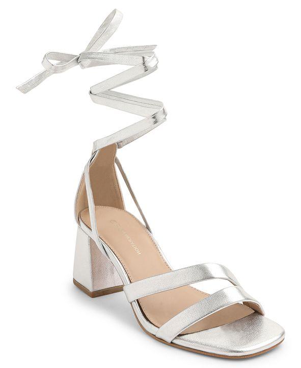 BCBGeneration Deena Lace Up Dress Sandals