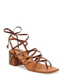 Ivelle Block Heel Sandals