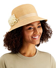 Cloche With Flower Band