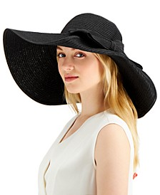 INC Oversized-Bow Floppy Hat, Created for Macy's