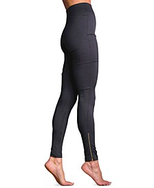Women's Barely There Zip Leggings