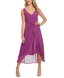Sleeveless High-Low Dress