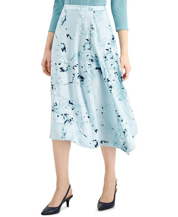 Alfani Print A-Line Skirt, Created for Macy's