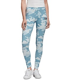 adidas Women's Camo Print Leggings