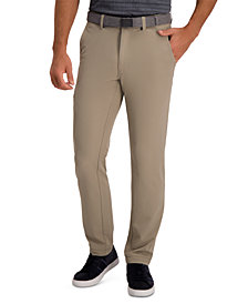 Haggar The Active Series™ Slim-Straight Fit Flat Front Urban Pant