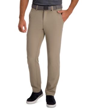 Haggar Men's Active Series Slim-Straight Fit Stretch Dress Pants