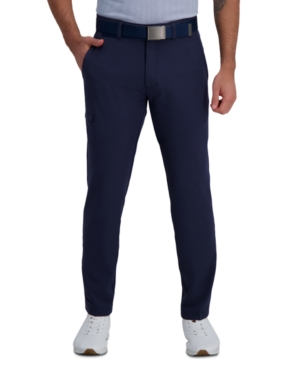 The Active Series Slim-Straight Fit Flat Front Urban Pant
