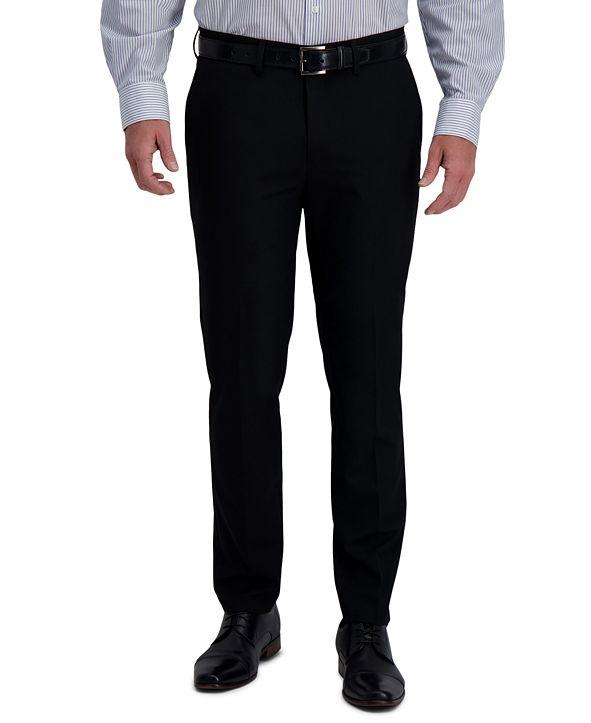 Haggar J.M. Men's Slim-Fit 4-Way Stretch Solid Dress Pants