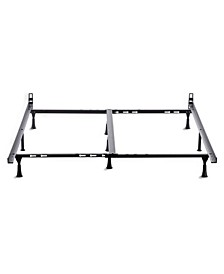 Universal Bed Frame with Glides, King