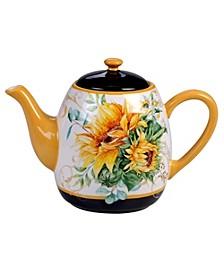 Sunflower Fields Teapot