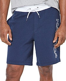 Men's Big & Tall Fleece Logo Shorts