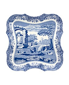 Blue Italian Large Devonia Tray