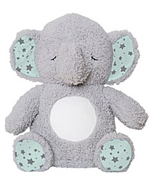 Elephant Music and Glow Soother Plush Toy