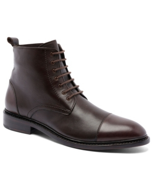 Men's Monroe Lace-Up Goodyear Casual Leather Dress Boots Men's Shoes