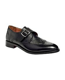 Men's Roosevelt III Single Monkstrap Wingtip Goodyear Dress Shoes
