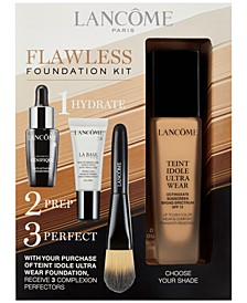 Teint Idole Ultra Wear Flawless Foundation Kit - Only $10 with any Teint Idole Ultra Foundation Purchase (a $57 Value!)
