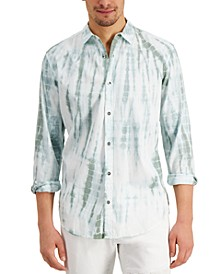 INC Men's Regular-Fit Tie-Dyed Shirt, Created for Macy's