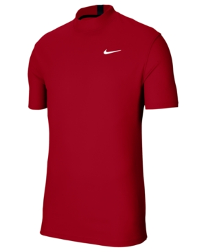 Nike Men's Tiger Woods Dri-fit Mock-Neck Golf Top