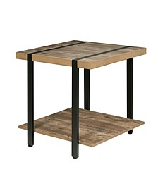 Bourbon Foundry End Table