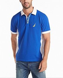 Men's Classic-Fit Performance Side Panel Polo Shirt