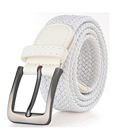 Men's Elastic Braided Stretch Belt