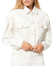 Lola Jeans Crop Denim Jacket