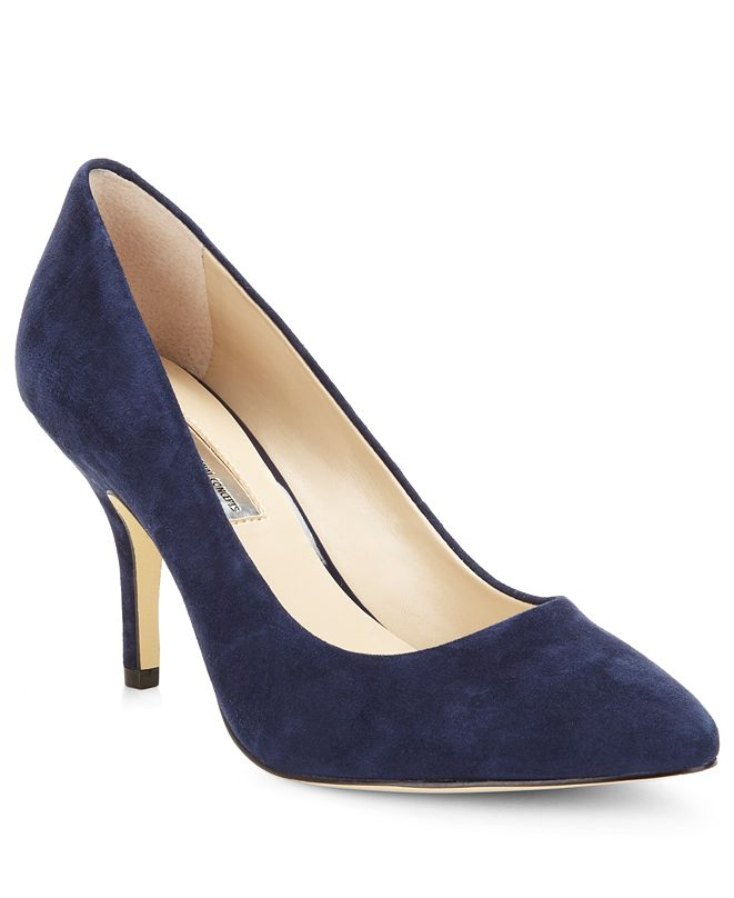 INC International Concepts INC Women's Zitah Pointed Toe Mid Heel Pumps