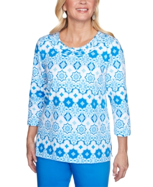 Women's Missy Sea You There Tile Biadere Top