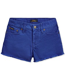 폴로 랄프로렌 걸즈 데님 반바지 Polo Ralph Lauren Big Girls Polo Cotton Denim Shorts