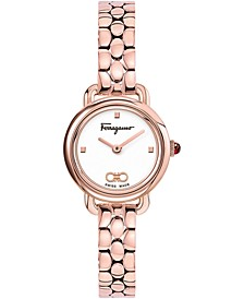 Women's Swiss Varina Rose Gold-Tone Stainless Steel 22mm
