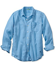 Men's Sea Glass Breezer Classic-Fit Linen Shirt