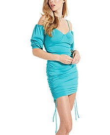 Milliy Ruched Mini Dress