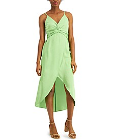 Twisted High-Low Midi Dress, Created for Macy's