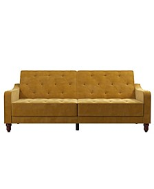 Vintage-Like Tufted Split Back Futon