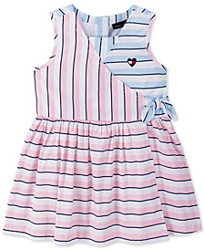 Toddler Girls Striped Dress